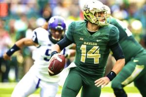 Bryce Petty led Baylor from down 21 against TCU at home to a 61-58 win. (Bleacher Report)