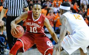 No. 24 Oklahoma completed a sweep of in-state rival Oklahoma State on Saturday after coming from behind in front of a sold out Gallagher-Iba Arena in Stillwater. (Univ. of Oklahoma Athletics)